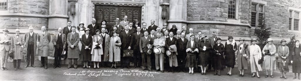 First PHA Meeting, 1932