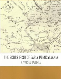 "FROM THE AUTHOR: Judy Ridner on ""The Scotch Irish of Early Pennsylvania"""